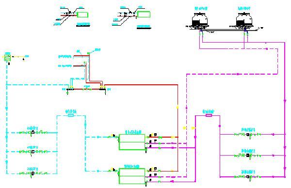 空调水系统流程原理图图片