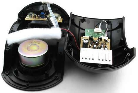9100现代低音炮电路板图
