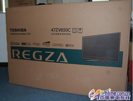 技术至上 东芝47zv650c液晶电视首测