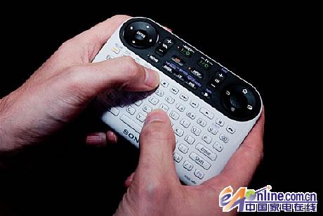 """索尼""""google tv""""液晶电视的遥控器(图)"""