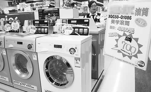 滚筒洗衣机增势不减