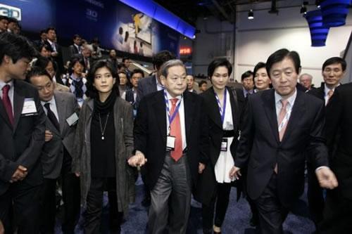 韩国三星集团董事长李健熙因患肺炎住院-中国