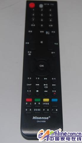海信led47t29gp液晶电视遥控器介绍