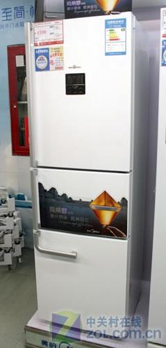 简约不简单 美的欧式冰箱现价4599元